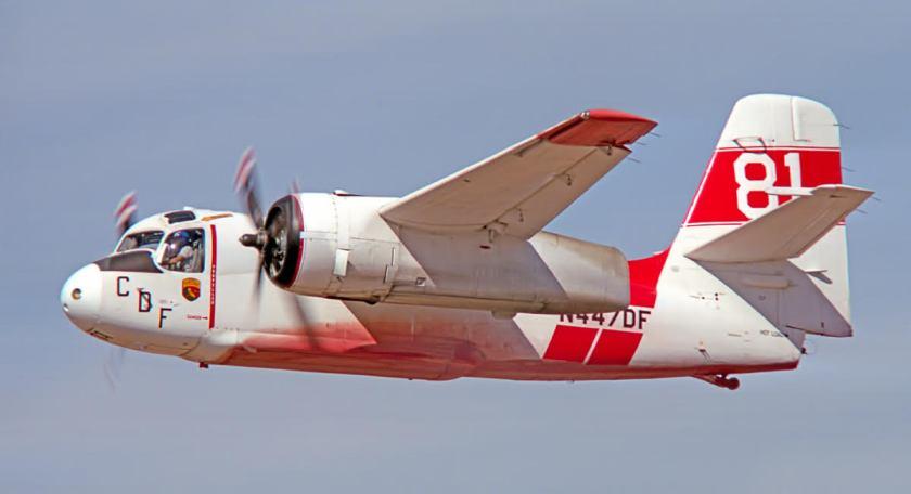 S-2 air tanker N477DF