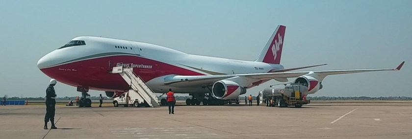 747 supertanker Bolivia