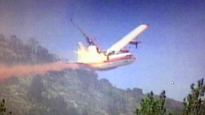 air tanker 130 crash walker california