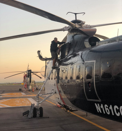 Coulson helicopters fire Bolivia