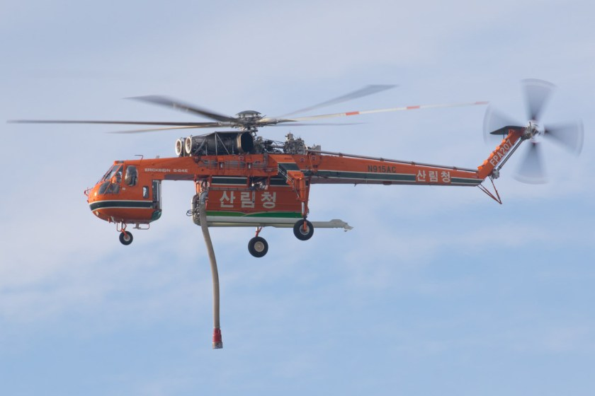 Korea Forest Service Air-Crane S-64 new