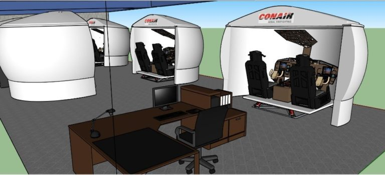 Conair acquire five flight training devices