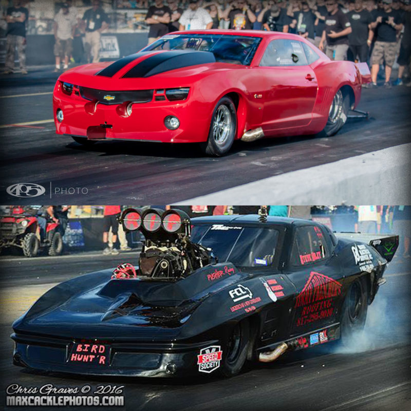 Fireball Racecar and the Texas Grim Reaper, Outlaw Armageddon NHRA, August 2016