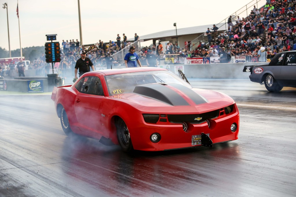 Fireball Camaro - Hot Rod Article