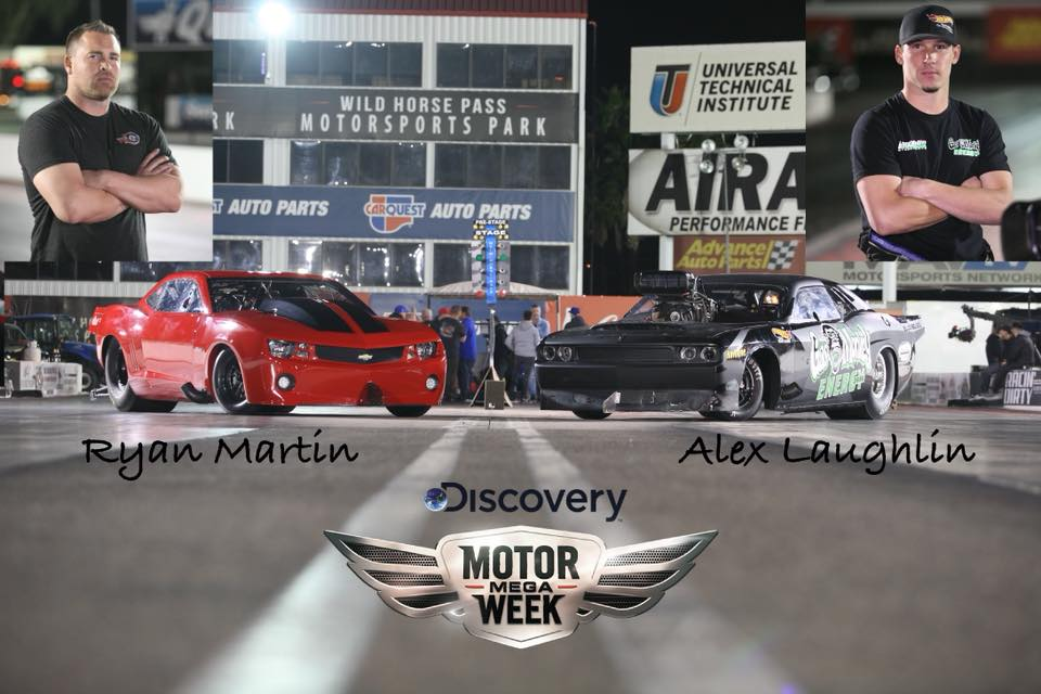 Fireball Camaro faces off with GMG's Demon for Motor Mega Week