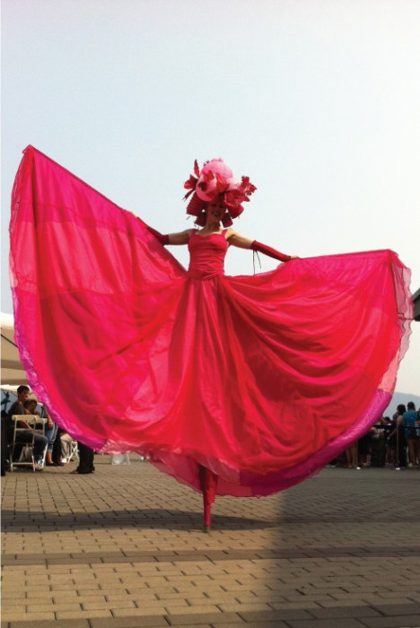 Pink Lantern Belle