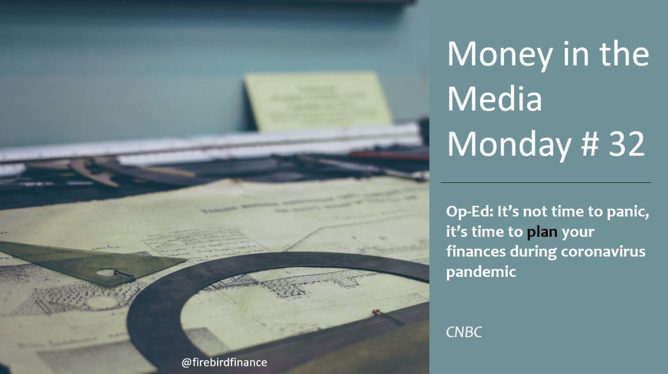 Money in the Media- Finance in a Pandemic
