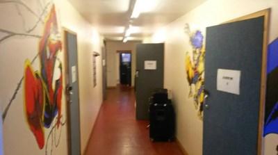 Firebird Studios - Studio corridor