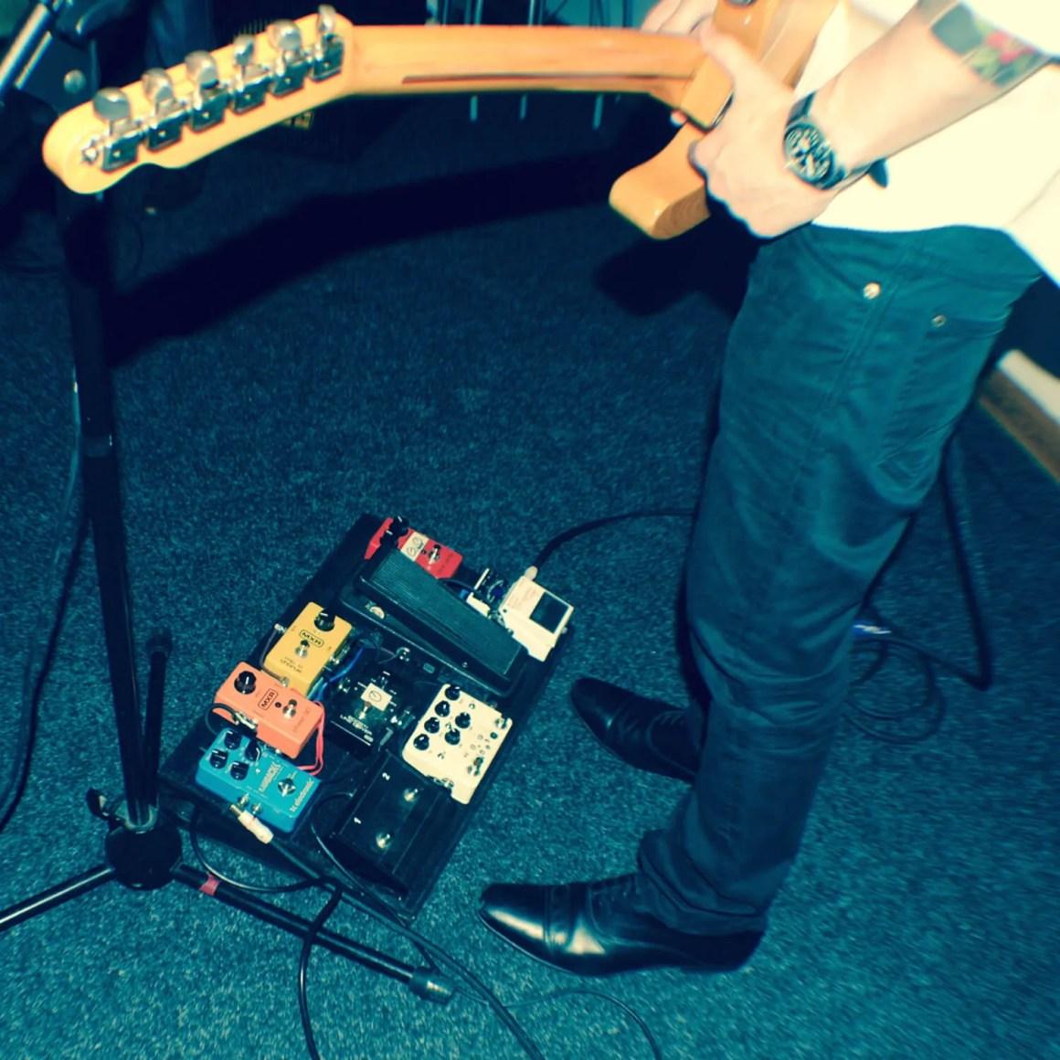Firebird Studios guitarist in room