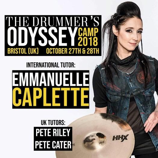 Emmanuelle Caplette drummer