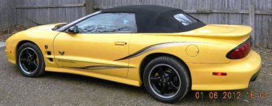 2002 Collector Edition Trans Am of Bill Short