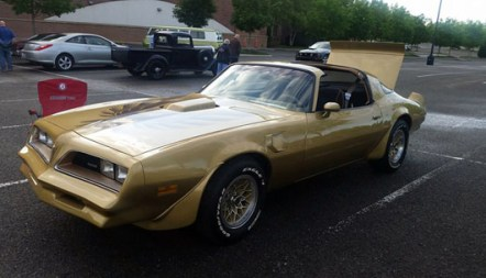 '78 Trans Am Y88 S.E. of Travis A. Stenberg