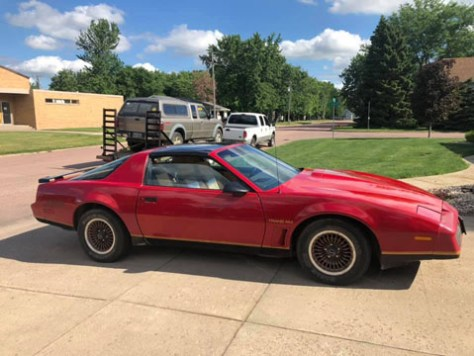 '83 Trans Am of Kenneth Tucker from Irene, South Dakota