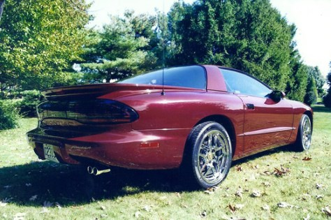 '95 Formula of Rick Miller from Schnecksville, Pennsylvania