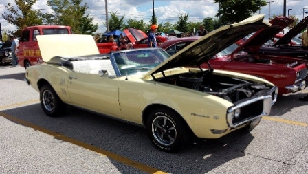 Naperville Crossings Car Show