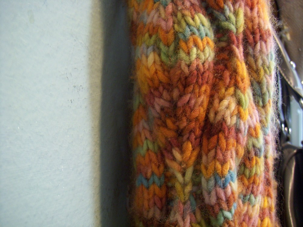 Candle flame scarf (3/4)