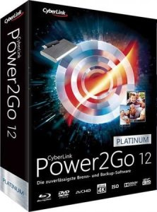 CyberLink Power2Go Platinum 13.1.1234.4 Crack With Key [Latest] 2021