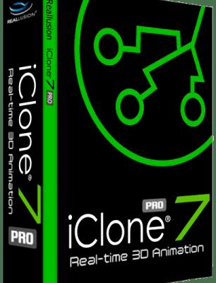 Reallusion iClone Pro 7.9.5124.1 Crack Serial Key 2021 Free Download