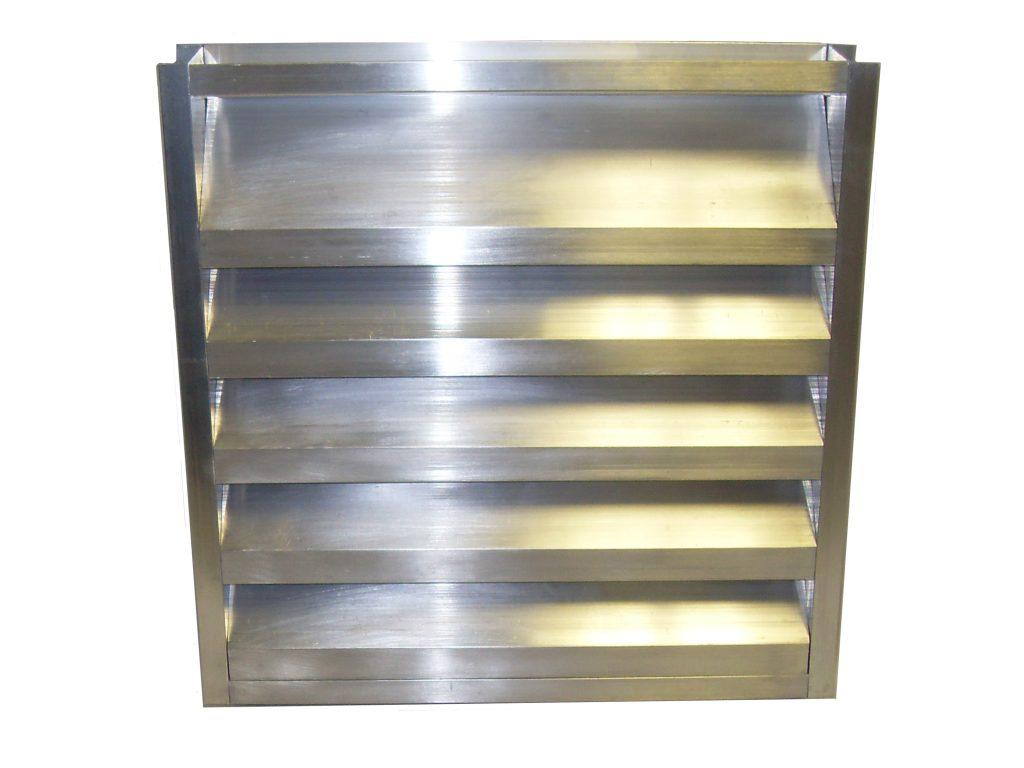 2 Inch Channel Frame Louver Fire Dampers Lloyd Industries