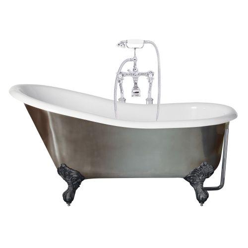 Canterbury metallisk slipper badekar 2