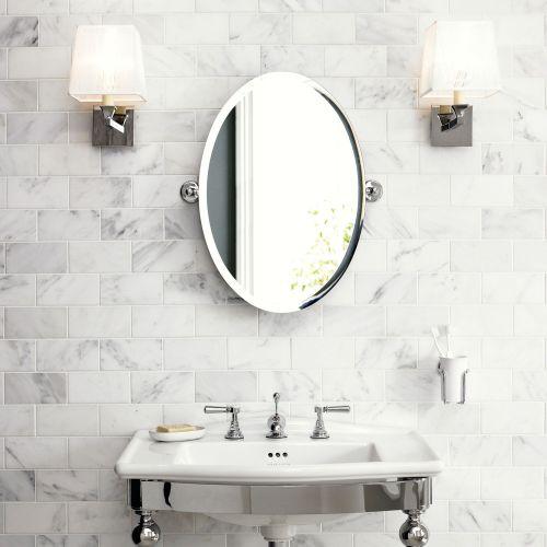 Richmond stort ovalt spejl 2