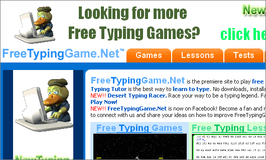 FreeTypingGame