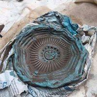 hay clay dish