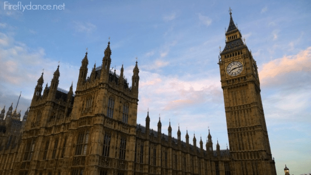 Big Ben - Things you must see in London