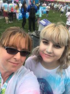 My family and I did the 2016 Seattle Color Run. It was great!