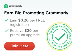 Join Grammarly's Affiliate Program