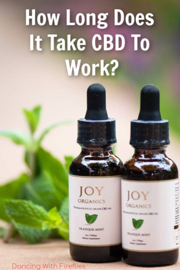 How much time does it take CBD to work?