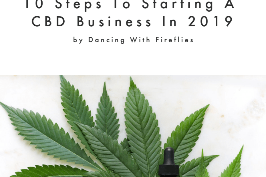 starting a cbd business in 2019