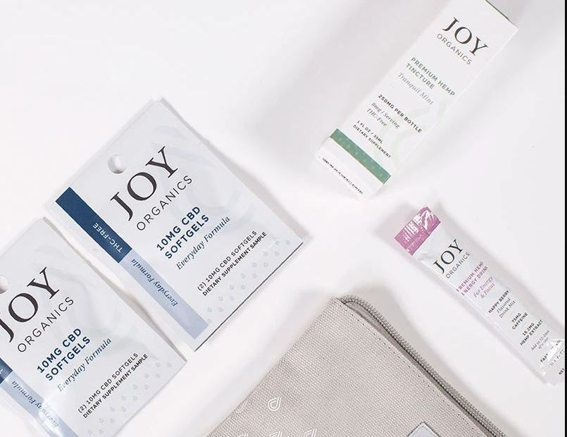 Joy Organics Work From Home Samples