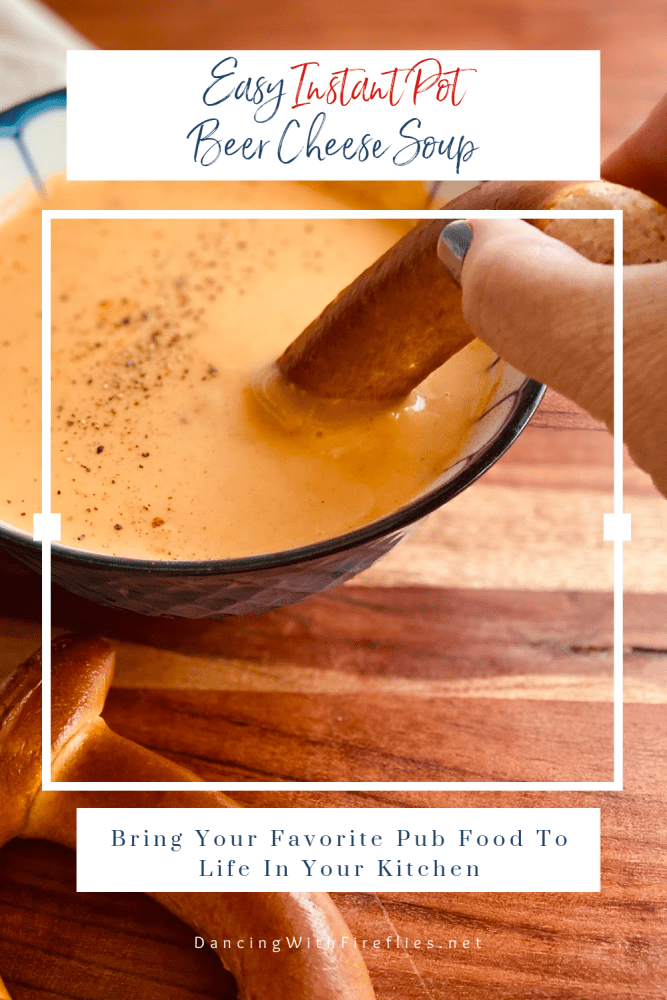 Easy Instant Pot Beer Cheese Soup