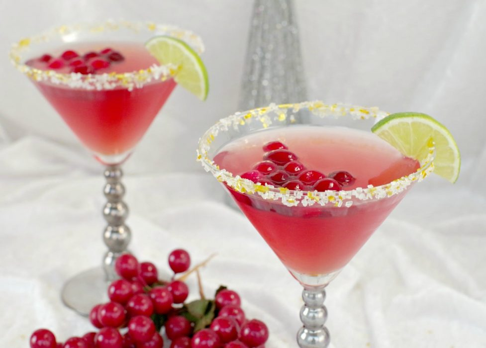 Cranberry Cosmo Mocktail