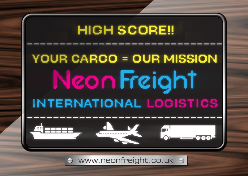 Neon Freight Postcard/Flyer 2018