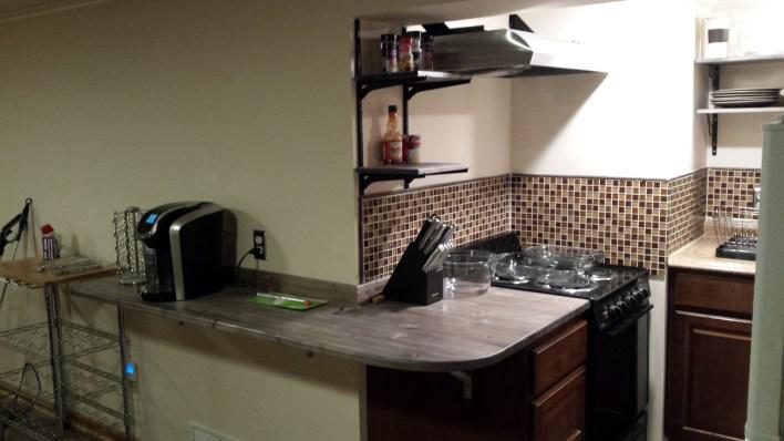 Remodeled kitchenette