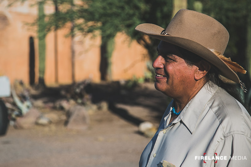 Joe Camarillo of Old Tucson, an amazing man and historian