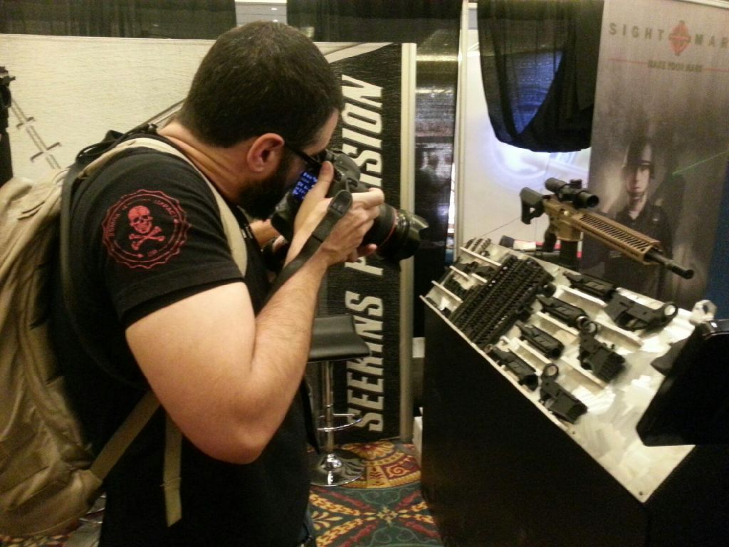 What I Learned at SHOT SHOW 2014 3 - Firearms Photographer | Firelance Media
