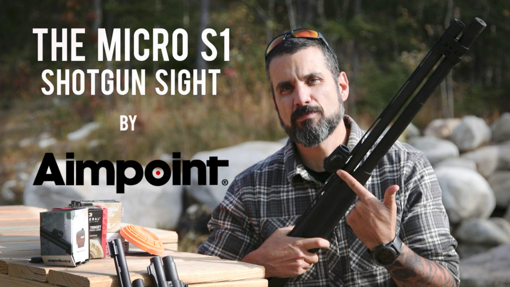 Aimpoint shotgun red dot sight review
