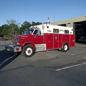1987 GMC Pierce Wet Heavy Rescue For Sale