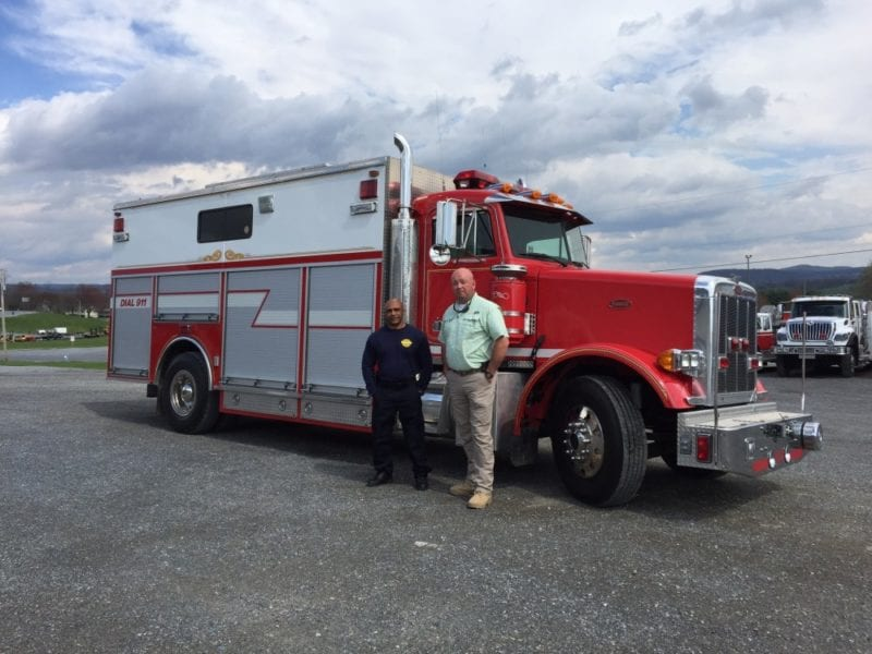 Used Fire Trucks : Used fire truck sold archives line equipment