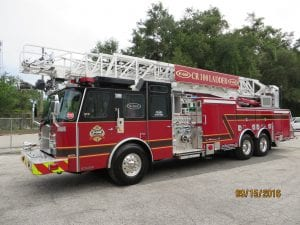 CR 100 Ladder Truck Number: 139879