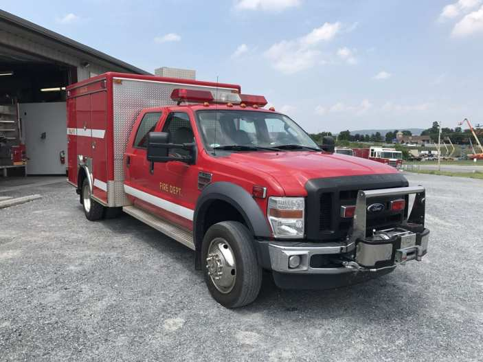 2009 FORD LIGHT RESCUE