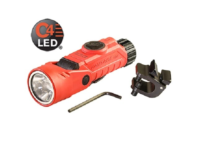 Vantage 180 Helmet-Right Angle Milti-Function LED Flashlight