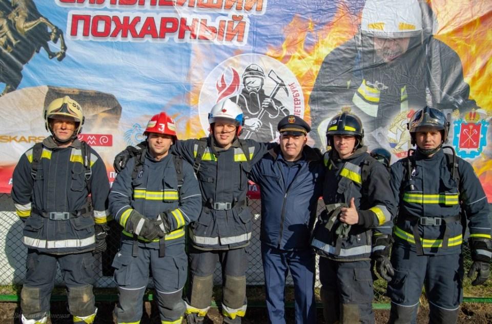 сильнейший пожарный 2020
