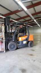 Forklift from Hutchinson Engineerings