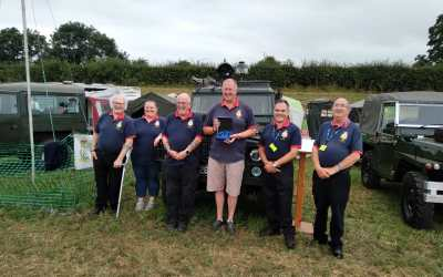 Weekend Update: Museum of RAF Firefighting Win Trophy at Classic Land Rover Gathering!