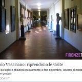 ヴァザーリの回廊再開のニュース FIRENZETODAY