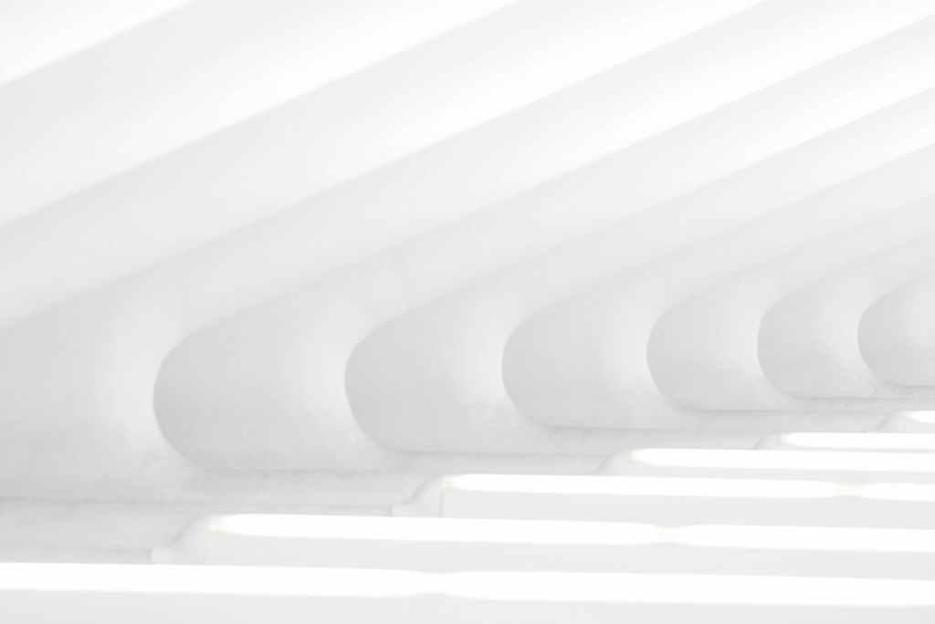 modern art painting in white